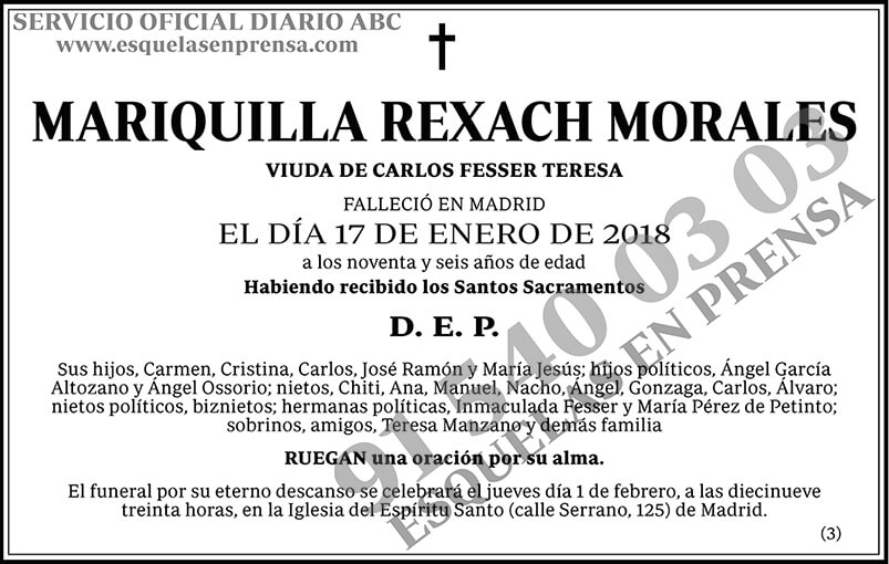 Mariquilla Rexach Morales